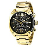 Reloj Hombre Acero Dorado
