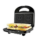 Sandwichera Smile Maker Negro