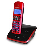 Teléfono AURI3520R 2.4GHZ Rojo