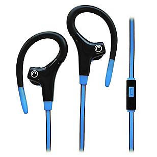 Audífono Deportivo con Micrófono Azul