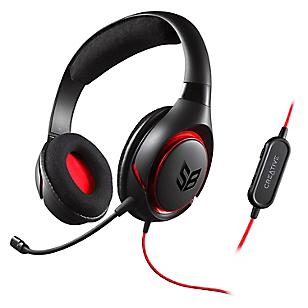Audífonos con Micrófono INFERNO BLACK
