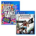 Pack Juegos PS4 Assassin's Creed Black Flag + Just Dance 2016