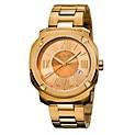 Reloj Hombre Acero Dorado - Edge Romans