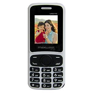 Celular 32 MB Dual SIM Uno M2 Blanco