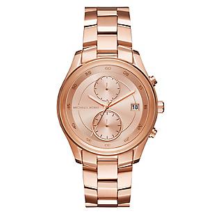 Reloj Michael Kors Mujer Acero Oro Rosa Falabella Com