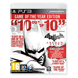 Videojuego para PS3 Batman Arkham City