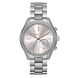 Reloj Mujer Acero Plateado