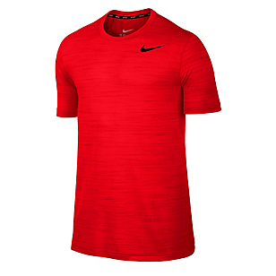 Camiseta Deportiva Dri-FIT Touch SS Heathered Rojo