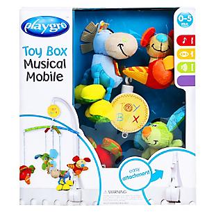 Móvil Musical Toy Box