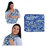 Pashmina Cobertor Azul