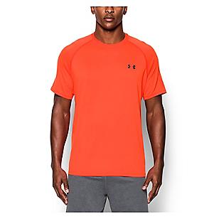 Camiseta Deportiva UA Tech Naranja