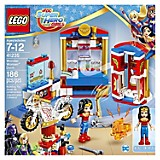 Set DC Super Hero Girls: Dormitorio de Wonder Woman