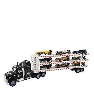 Camión Transportador + 9 Vehículos F1