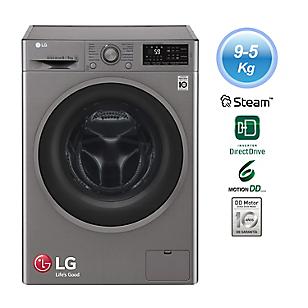 LG Lavaseca F0905ERDS 9 kg/5 kg Silver