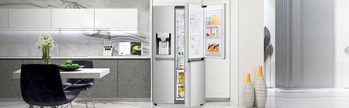 Refrigeradora Premium en la cocina