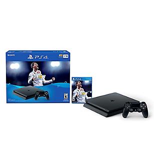 Consola PS4 1TB Edición Fifa18 Negro