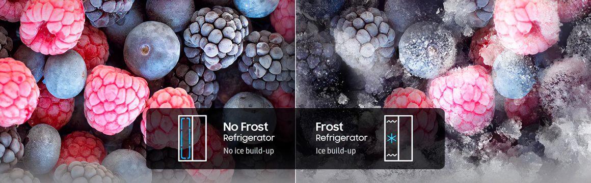 Refrigeración sin escarcha