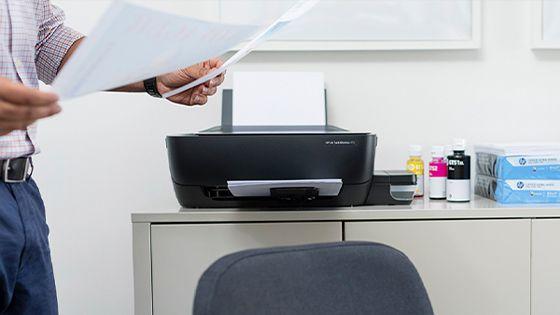 Multifuncional HP Ink Tank 415 HP Smart App