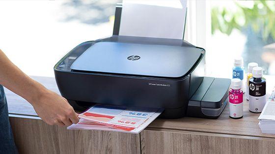 Multifuncional HP Ink Tank 415 imprime, copia y escanea