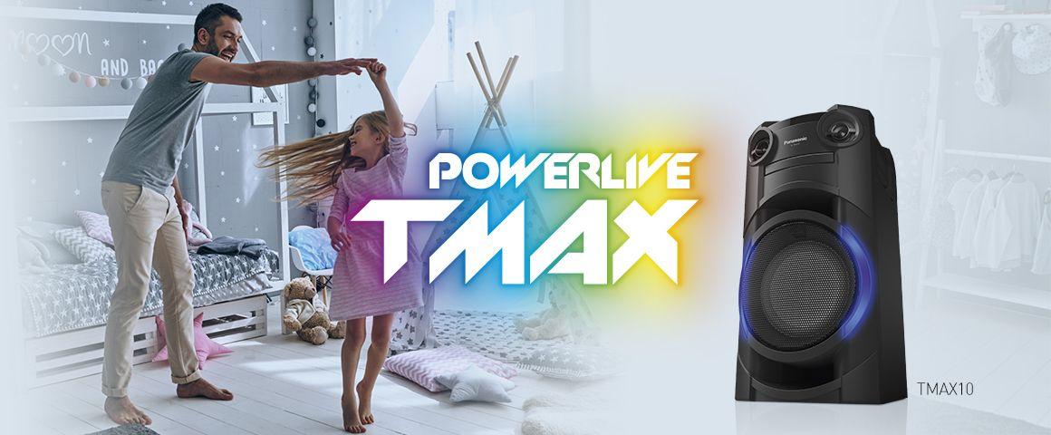 Bajos potentes que harán temblar el piso TMAX10 300W