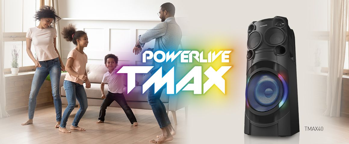 Poderosos bajos que harán temblar el piso TMAX40 1200W