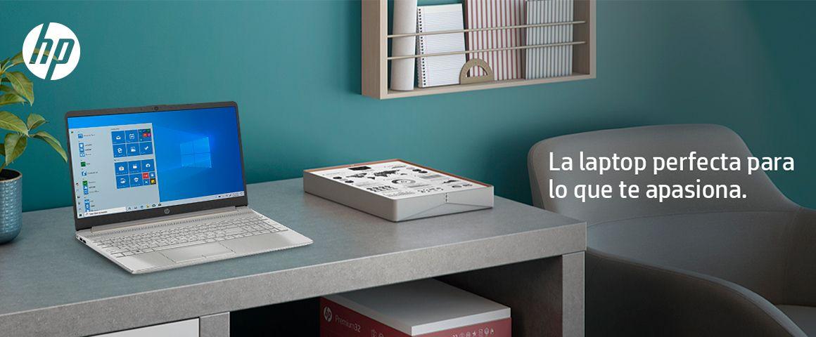 Haz más, donde quieras, todo el día. La nueva Laptop HP 15-dy1005la, en un diseño delgado con pantalla micro borde, diseñada para tu productividad y entretenimiento.