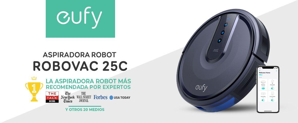 Aspiradora Robot Inteligente Robovac 25C