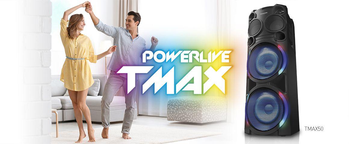 Bajos potentes y sorprendentes TMAX50 2000W