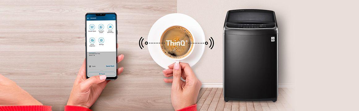 ThinQ: Lavado Inteligente con Wi-Fi