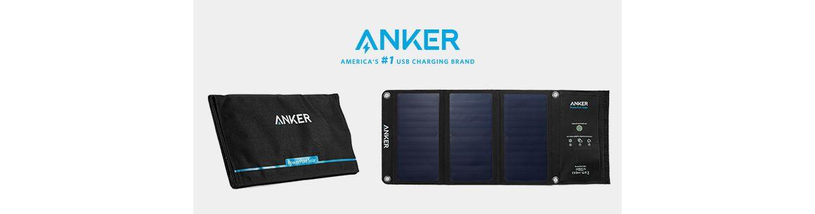 Cargador Solar PowerPort 21W + 2 puertos USB