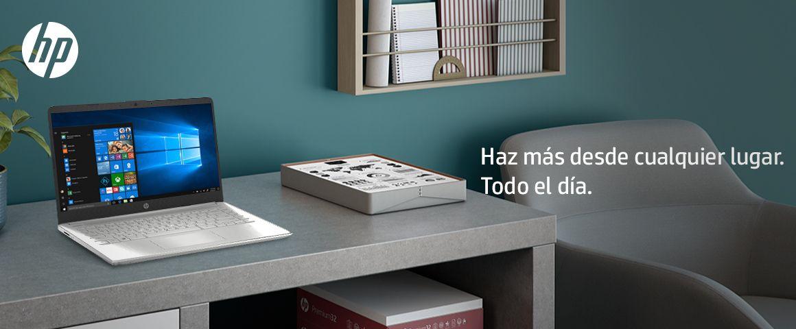 Laptop HP 14-dq1002la, para que hagas más, donde quieras, todo el día