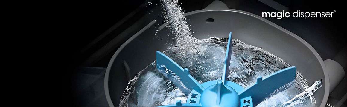 Disuelve detergente de forma sencilla