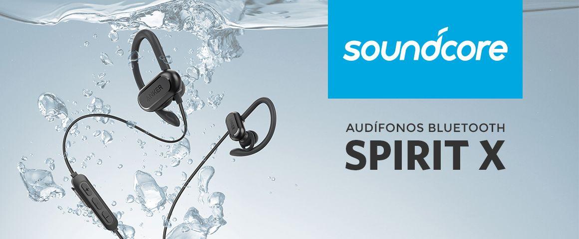 Audífonos Bluetooth Soundcore Spirit X Característic