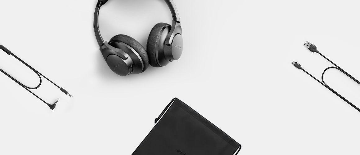 Audífonos bluetooth Soundcore Q20