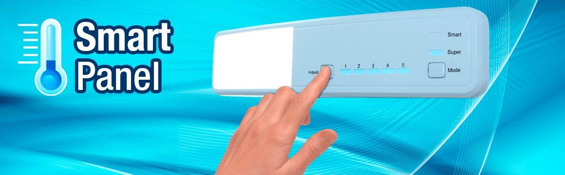control de temperatura mecánico smart panel