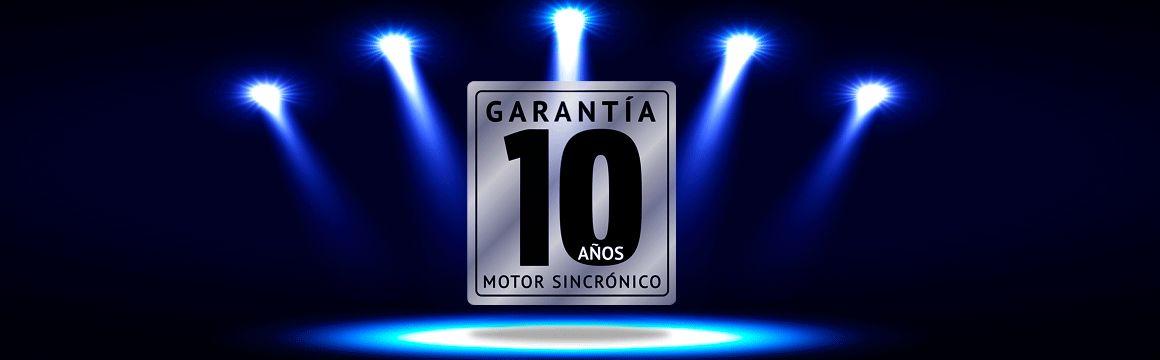 GARANTÍA 10 AÑOS MOTOR Winia