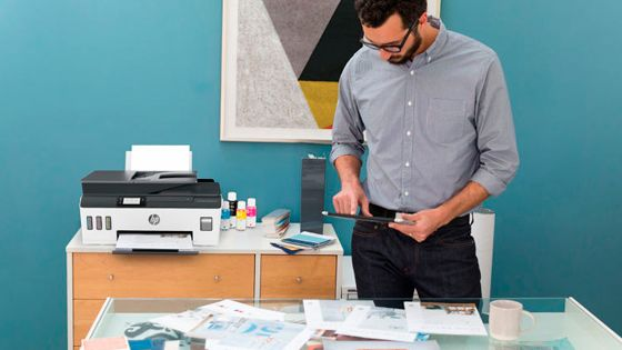 Multifuncional HP Smart Tank 533 alto volumen de impresión
