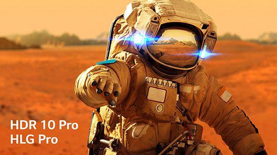 HDR 10 Pro y HLG Pro