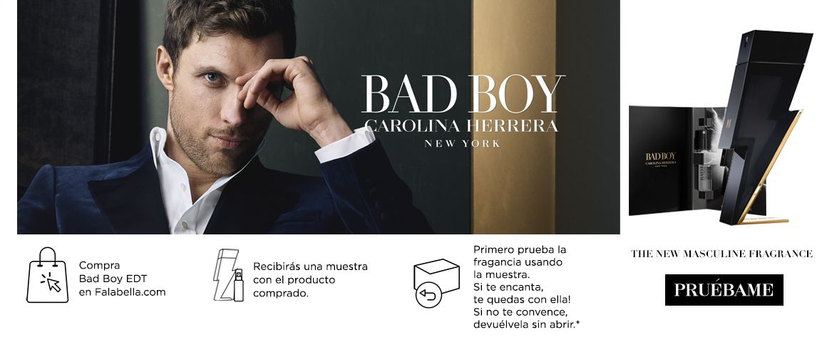 Carolina Herrera Bad Boy Try&Buy