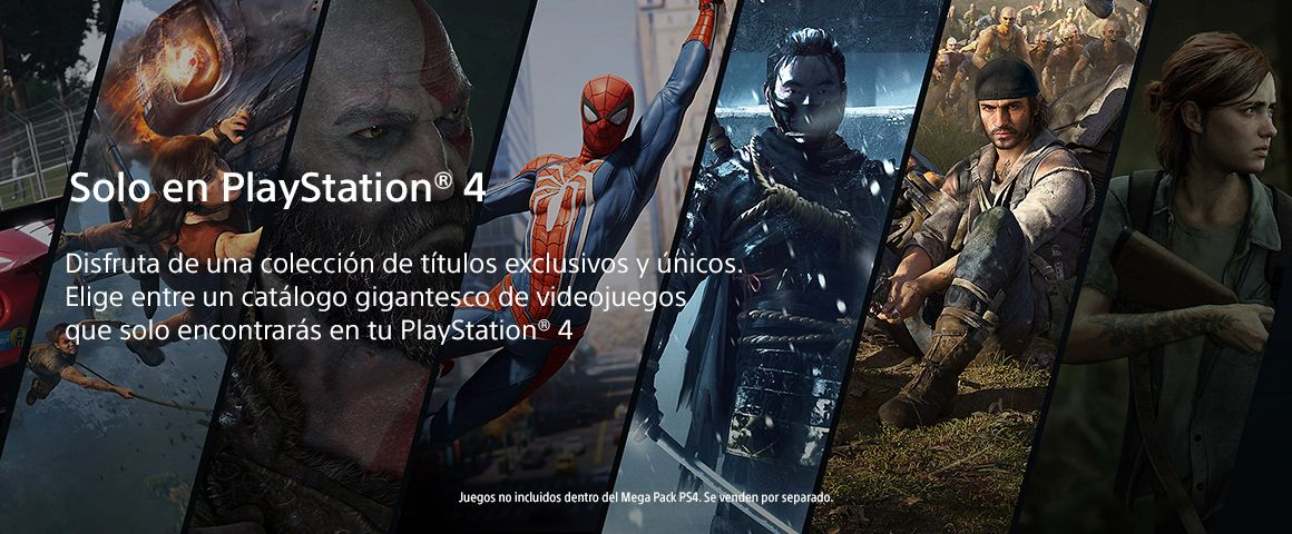 Catálogo PlayStation 4