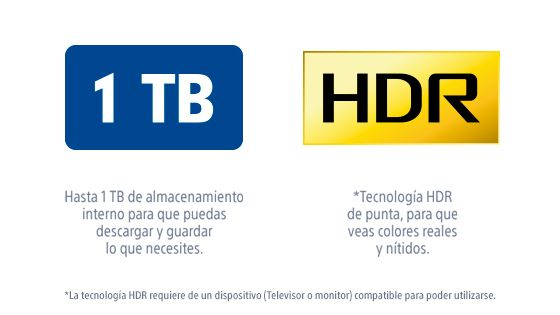 PlayStation 1TB HDR