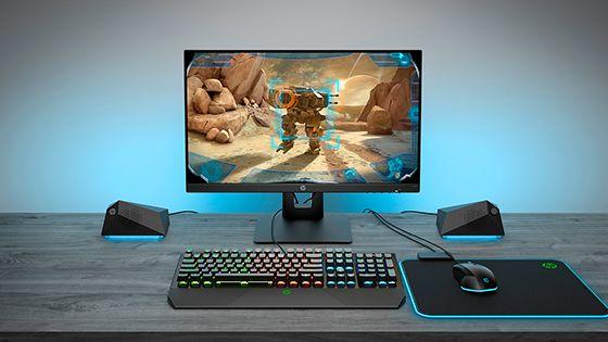Monitor HP X24ih Gaming tasa de refresco