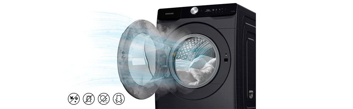 Sanitiza con aire caliente