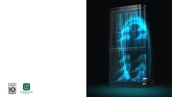 Refrigeradora con Compresor Inverter Linear