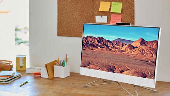 HP All-in-One 22-dd0010la pantalla Full HD