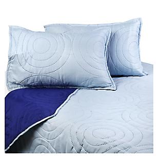 Cubrecama HP Queen Azul