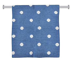 Toalla de Manos Diseño Bolitas Azul