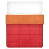Edredón Jacq Rojo/Naranja Sintético 2 plz