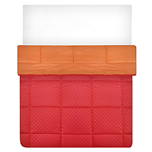 Edredón Jacq Rojo/Naranja Sintético 1,5 plzaza