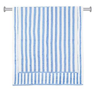 Set de Toallas Stripes Azul x 2